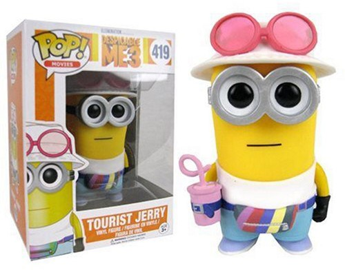 POP! Vinyl Despicable Me 3 Jerry Tourist