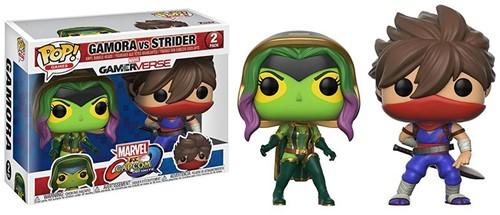 POP! Games Marvel Capcom 2-Pack Gamora/Strider