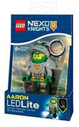 Lego Nexo Knights Mini LED-zaklamp met sleutelhanger Aaron