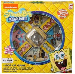 Spongebob Pop-Up Spel 26x26cm