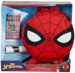 Spiderman rugzak met tekenset 35x32cm