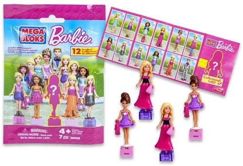 Blind Bag Mega Bloks Barbie 7pcs
