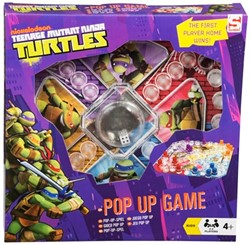Teenage Mutant Ninja Turtles Pop-Up Spel 26x26cm