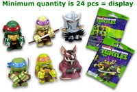 Blind Bag Teenage Mutant Ninja Turtles verzamelfiguren 6 assorti in display 4cm