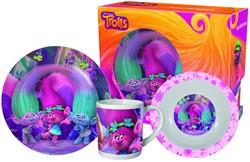 Trolls ontbijttset in gift box