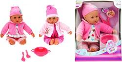 Babypop met accessores Cute Baby 2 assorti 40cm