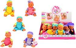 Babypopje Mini 6 assorti in display