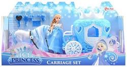 Paard met Koets Ice Princess