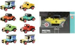Die-cast classic cars 9 assorti