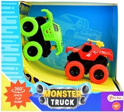 Friction monster truck 2st. with ramp