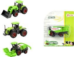DIECAST boerderij tractor 4 assorti