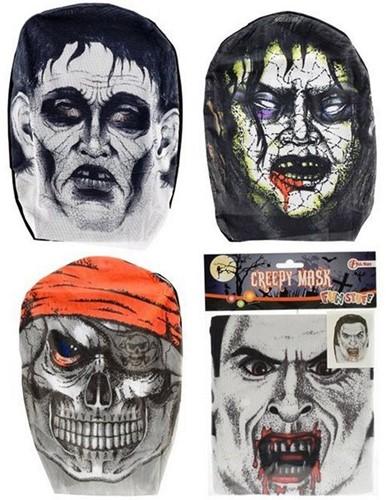 Masker Creepy 4 assorti