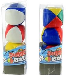 Jongleer Ballen 3 Stuks In koker 2 assor