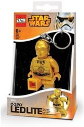 Lego Star Wars Mini LED-zaklamp met sleutelhanger C3PO