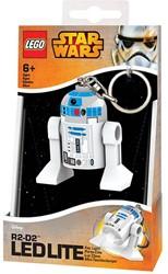 Lego Star Wars Mini LED-zaklamp met sleutelhanger R2-D2