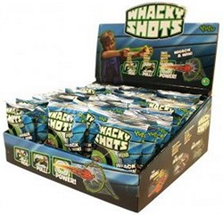 Whacky Shots Mini in display