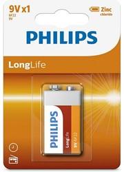 Philips batterij 9v Longlife