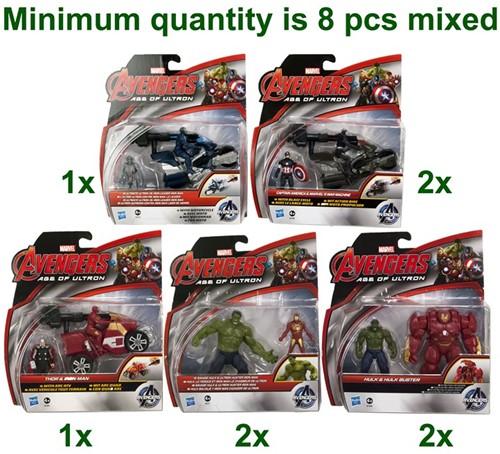 Marvel Serie Figuren 2,5 inch assorti