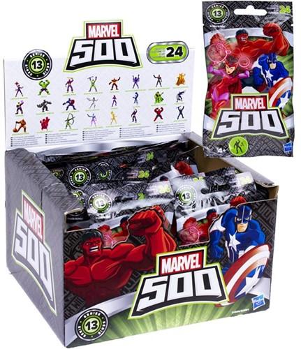 Blind Bag Marvel 500 Micro verzamelfiguren assorti in display (24)