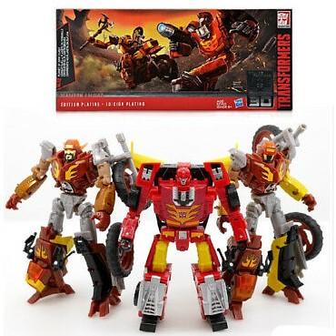 Transformer Planet of Junk Clash 3pack Platinum Edition - England