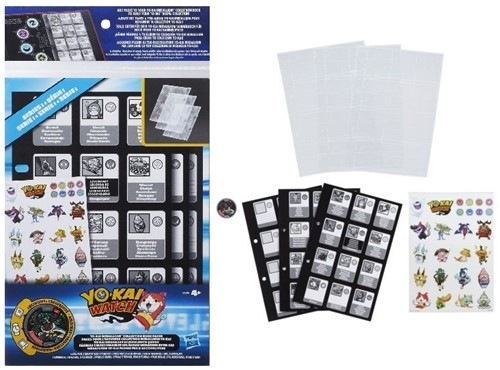 Yo-Kai Watch Collection Book Pages + Stickers + Medaille Serie 1 18x33,5cm