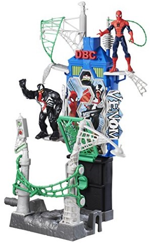 Marvel Spiderman Sinester 6 Webcity Showdown 35x40cm-2