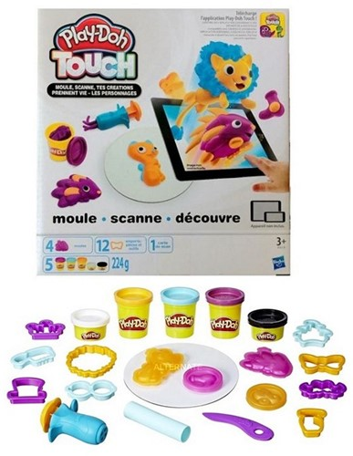 Play-Doh Touch Shape and Style 5 potjes klei 224 gr. 20x22cm