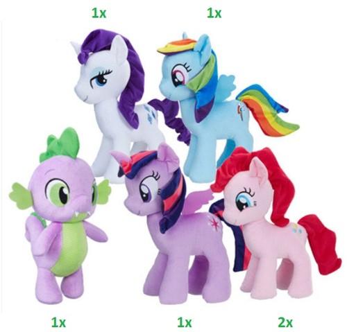 My Little Pony Pluche 5 assorti in display 32cm