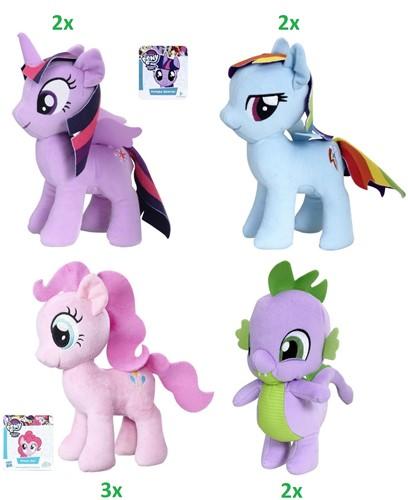 My Little Pony Pluche 4 assorti 25cm