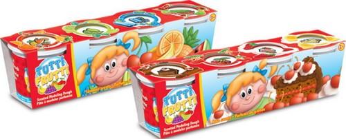Tutti Frutti Cake + Summer Scents Kleipot met geur 128gr./4,5oz 4-Pack 2 assorti 8x31cm