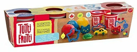 Tutti Frutti Kleipot met geur en vormen 128gr./4,5oz 3-Pack