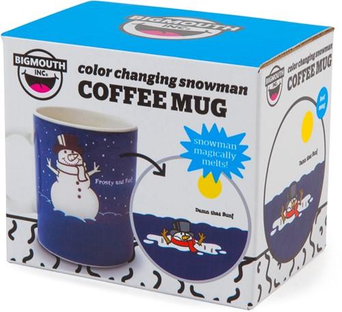 Bigmouth Mok The Colour Changing Snowman 12Oz