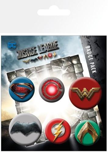 Button Pks Justice League Movie Mix