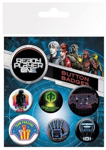 Button Pks Ready Player One Mix