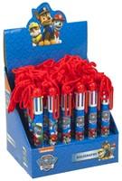 Paw Patrol 6 kleuren pen in display-2