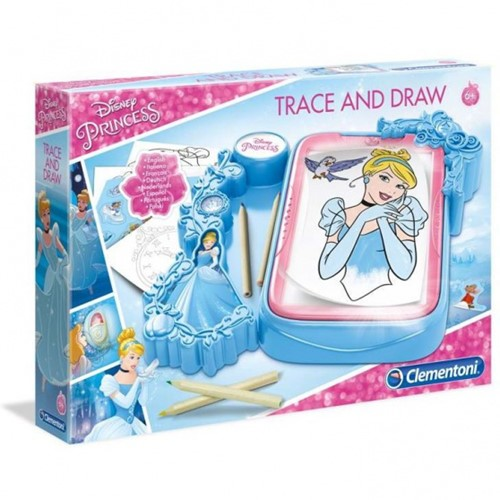 Clementoni Disney Princess Trace and Draw