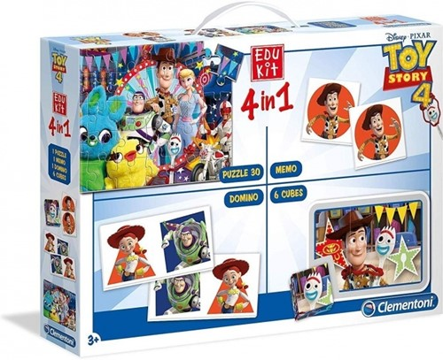 Clementoni Toy Story 4 4in1 Game