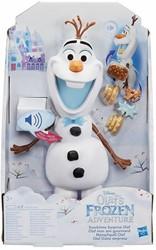 Disney Frozen Snacktime Surprise Olaf met geluid 20x32cm