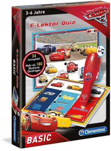 Clementoni Disney Cars E-lektor Quiz