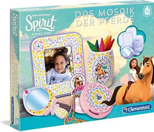 Clementoni Dreamworks Spirit creatieve set mozaïek paarden
