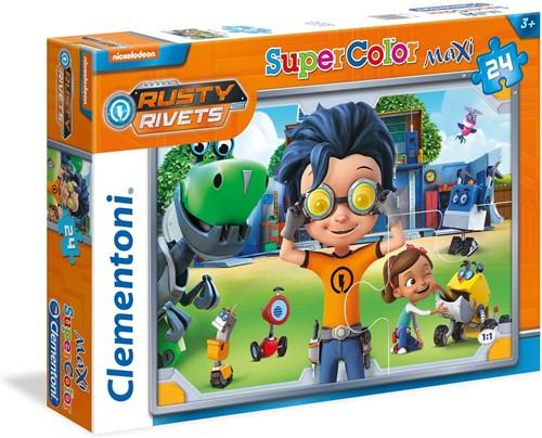 Clementoni Rusty Rivets Maxi-Puzzle 24 delig assorti