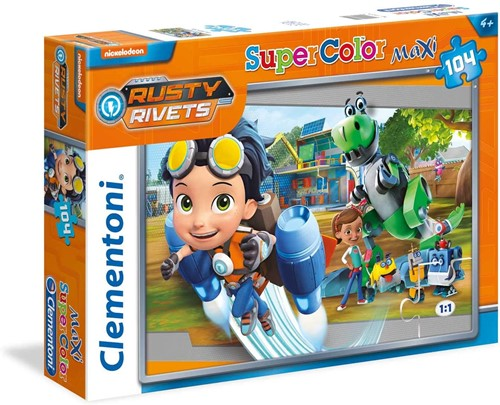 Clementoni Rusty Rivets Maxi-Puzzle 104 delig