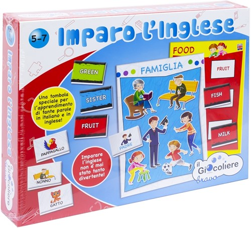 Clementoni Imparo L'Inglese Game 23x29cm (IT)