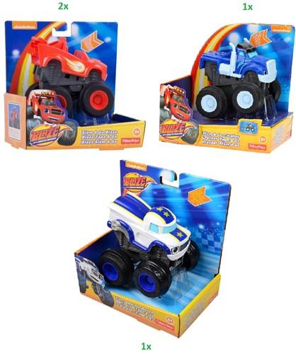 Fisher-Price Blaze&The Monster Machines assorti