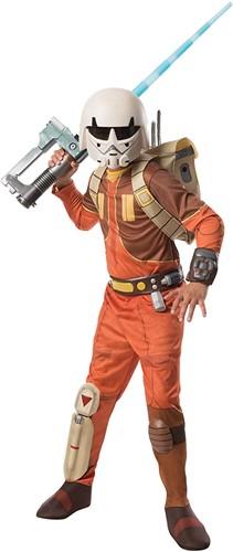 Rubies Kostuum Star Wars Deluxe Ezra Medium