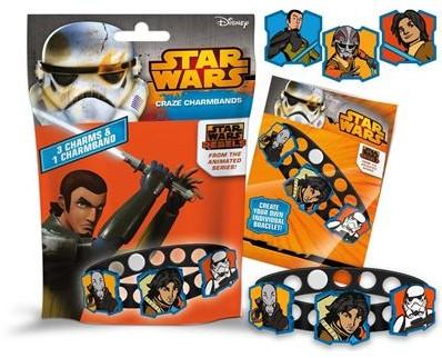 Blind Bag Star Wars armband met 3 Charms