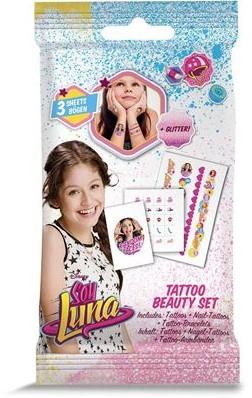 Disney Soy Luna Tattoo Beauty set 9x17cm in display