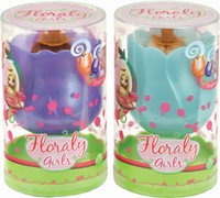 Floraly Girls Violet & Iris Set of 2 14cm