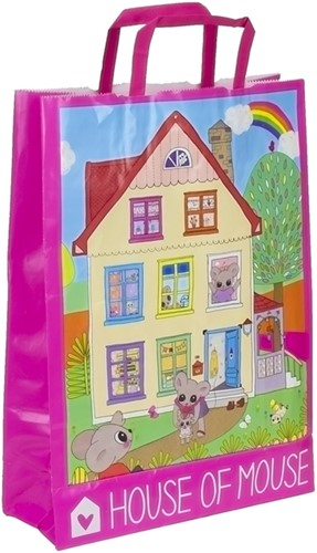 Depesche House of Mouse papieren draagtas 2 assorti 26x36cm