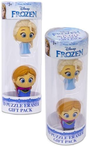 Disney Frozen Puzzle Palz 3D Puzzel Gum 2-Pack 6x17cm
